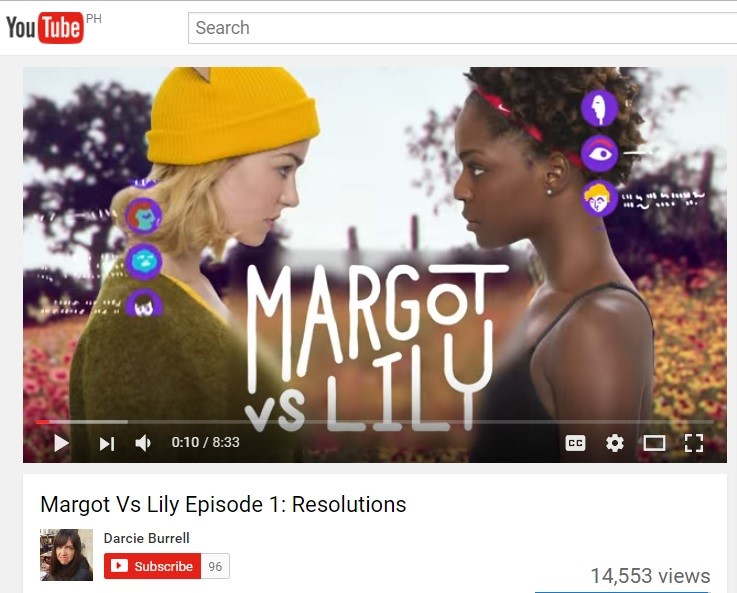 "Nike's ""Margot vs Lily"" Campaign on YouTube"