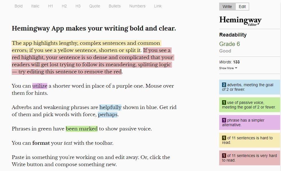 Email-Tools-Hemingway