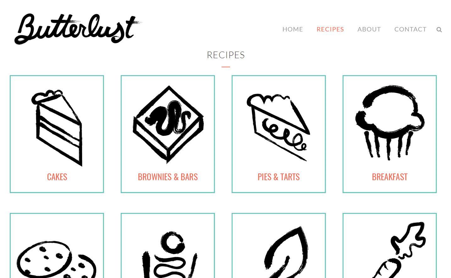 Butterlust website