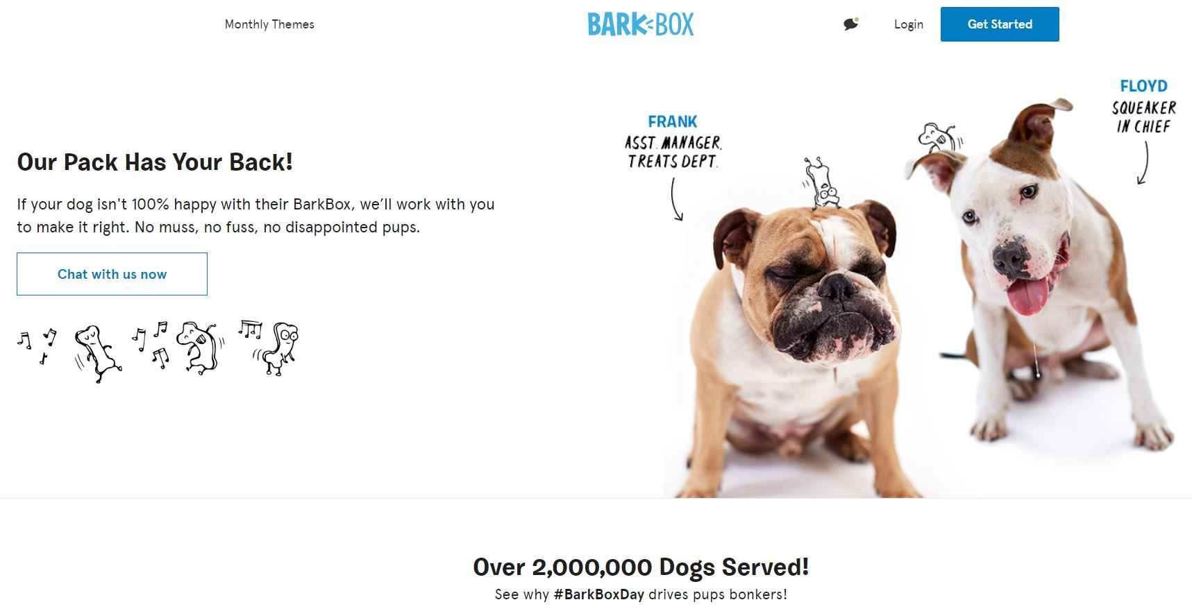 Barkbox website