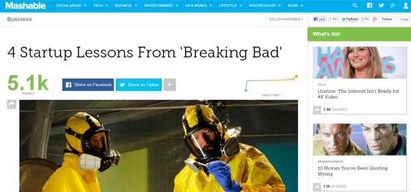 breaking bad startup lessons