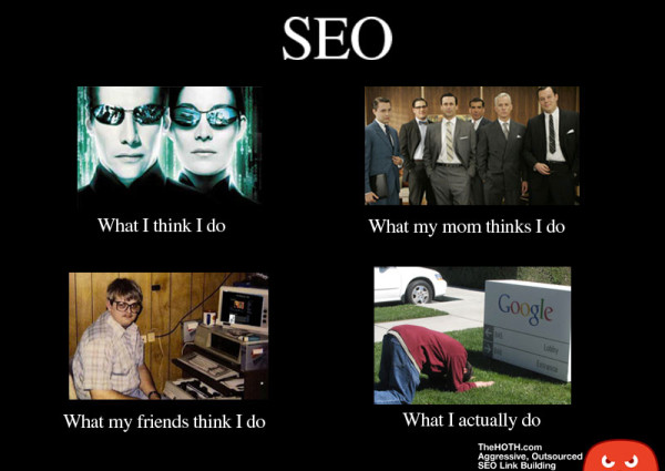 what i actually do seo