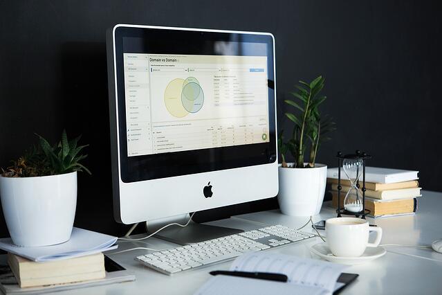 website analytics on computer
