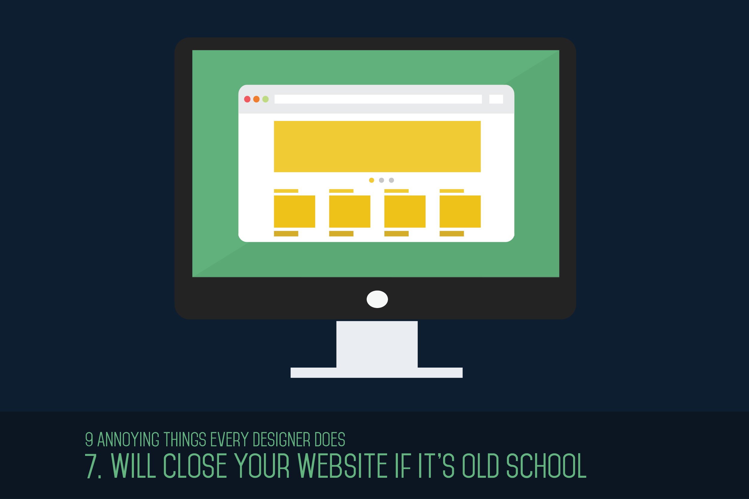 Will Close Your Website If It's Old School