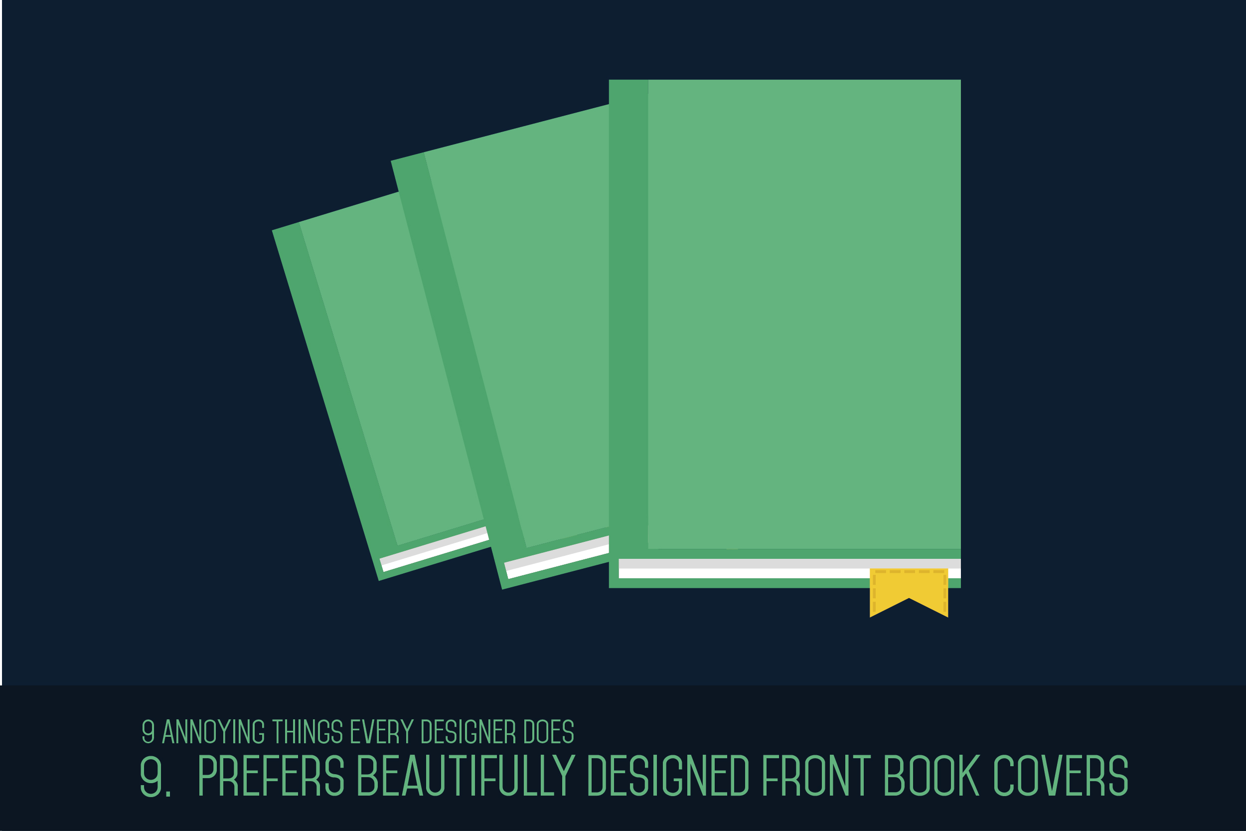 Prefers Beautifully Designed Front Book Covers